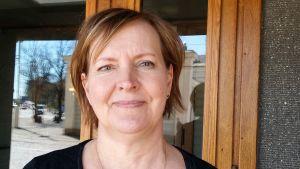 Anne Puonti slottsfogde på presidentens kansli.