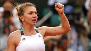 Simona Halep är en match från karriärens första Grand Slam-titel.