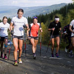 Ragnhild Haga, Ingvild Flugstad Östberg, Maiken Caspersen Falla, Heidi Weng och Astrid Jacobsen