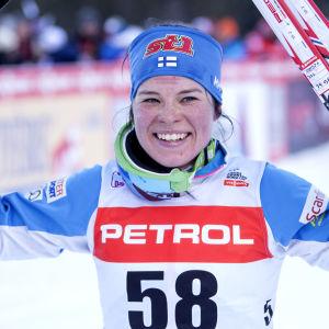 Krista Pärmäkoski, januari 2018.