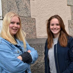 Miranda Giljam och Antonia Idström