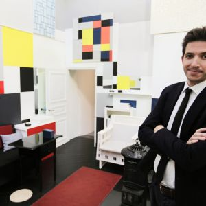 James Fox Piet Mondrianin työhuoneessa