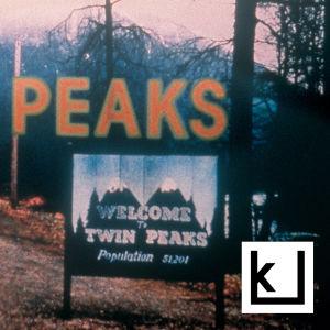 Twin Peaks -sarjan kuvitteellisen kaupungin kyltti.