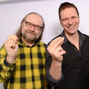 Arto Pajukallio, Esa Eloranta ja Paula Jokimies