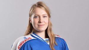 Jennica Haikarainen från ishockey landslaget