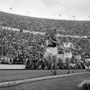 Emil Zatopek, OS 1952.