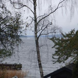 Bild från operationsområdet i Stockholms skärgård.