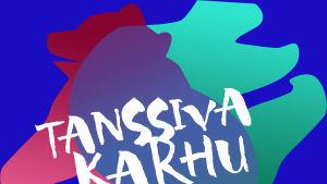 Tanssiva karhu -palkinnon logo