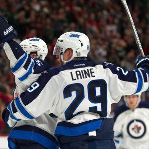Patrik Laine, Winnipeg Jets, hösten 2016.