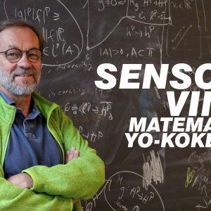 Matematiikan sensori Juha Oikkonen.