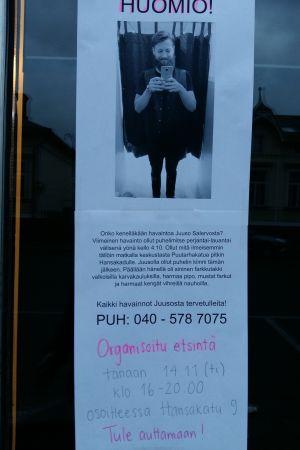Frivilliga letar efter försvunnen man i Åbo