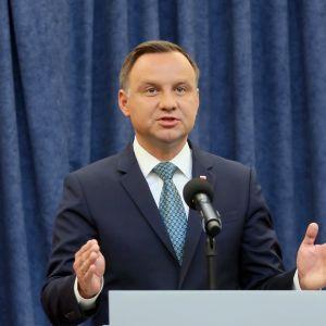 Andrzej Duda är Polens president.