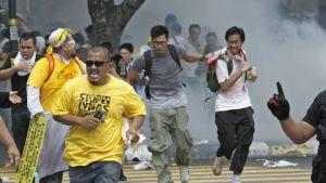 Oroligt i Kuala Lumpur.