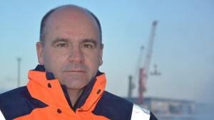Hangö hamns vd Anders Ahlvik.