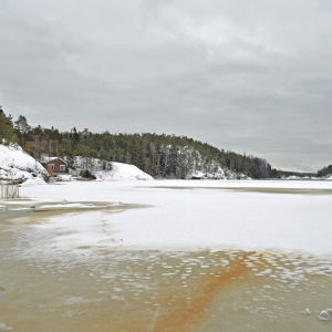 Bakom Utterviken öppnar sig det öppna havet.