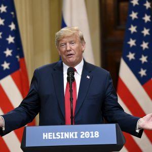 Donald Trump - presskonferens
