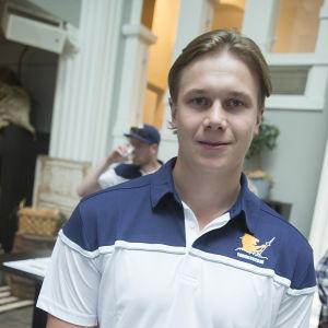 I slutet av juni samlades Jyrki Jokipakka tillsammans med det övriga World Cup-laget i Helsingfors.