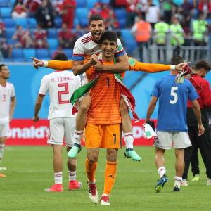 Iran firar.