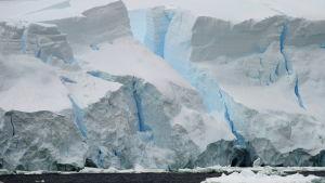 Jäätikköä. Etelämanner - Antarktis.
