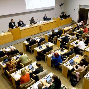 Stadsfullmäktige i Helsingfors