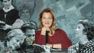 Rouva Ruutu ja tunnettuja tv-kasvoja