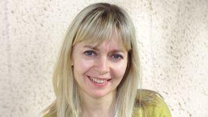 Nina Stark är styrelsemedlem i föreningen Högkänsliga i Finland rf