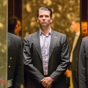 Donald Trump Jr. i Trump Tower.