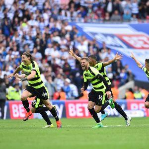 Huddersfield firar avancemang till Premier League