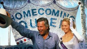 Jeff Bridges ja Cybill Shepherd elokuvassa Texasville.