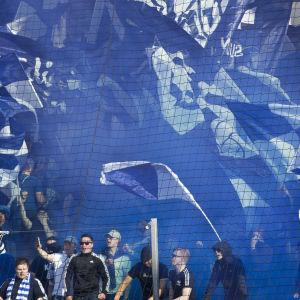 HJK:s hejarklack hade orsak att fira under förra säsongen.
