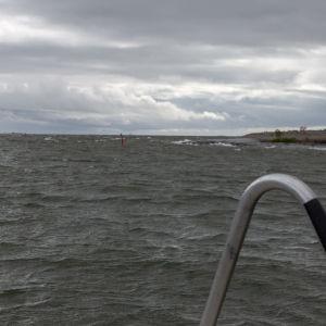 Havet utanför Helsingfors i dag.