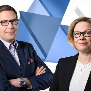 Toimittajat Jan Andersson ja Seija Vaaherkumpu