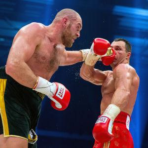 Tyson Fury besegrade Volodymyr Klytjko 2015.