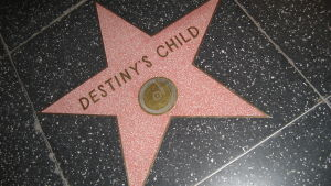 Destiny's Childs stjärna på Hollywood Walk of Fame.