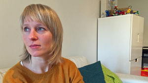 Nora Sjöholm är barnmorska