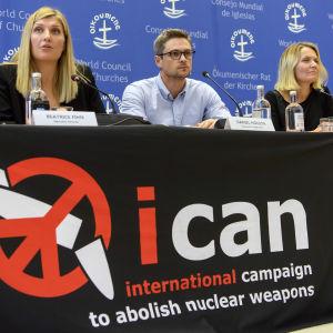 Personer på ICAN.