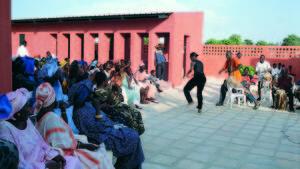 Naisten talon avajaiset, Rufisque/ Senegal