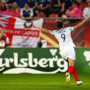 Jodie Taylor, striker i Englands landslag.