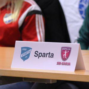Damhandboll, playoffinfo 24.3.2015