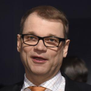 Finlands statsminister Juha Sipilä