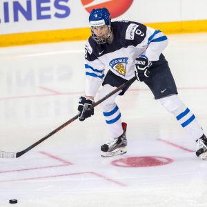 Jesse Puljujärvi har förstärkt Finlands U18-landslag.