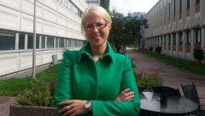 Marina Furuhjelm, jurist på Disponentförbundet