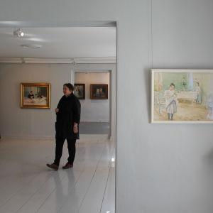 utställning med Hanna Frosterus-Segerstråles konst