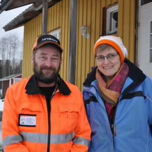 Carola Blomqvist-Lönnberg och Stefan Lönnberg