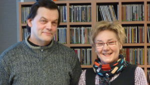 Christer Finne och Viola Mitts i Fredagsklubben