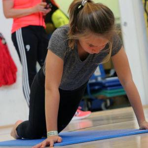 Move test pågår i Vindängens skola klass fem