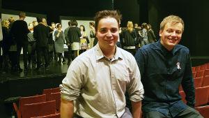 Ted Forsström och Kaj Korkea-aho gör Pleppo igen på Wasa Teater.