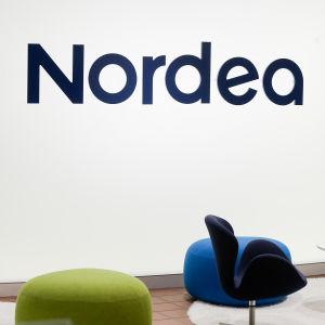 Bild från Nordeas presskonferens i Helsingfors i januari 2017.