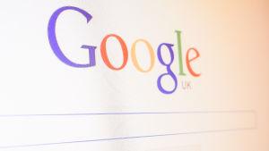 Google sökfönster.