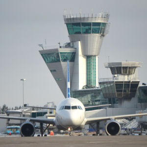 Helsinki Airport, winter 2013
